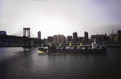 The East River is not really a river, it is an estuary.