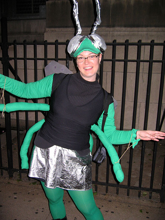 BeckyParty as a Green Fly